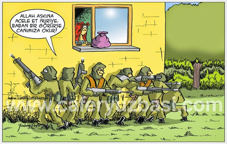 kiz kaçirma-Askerce