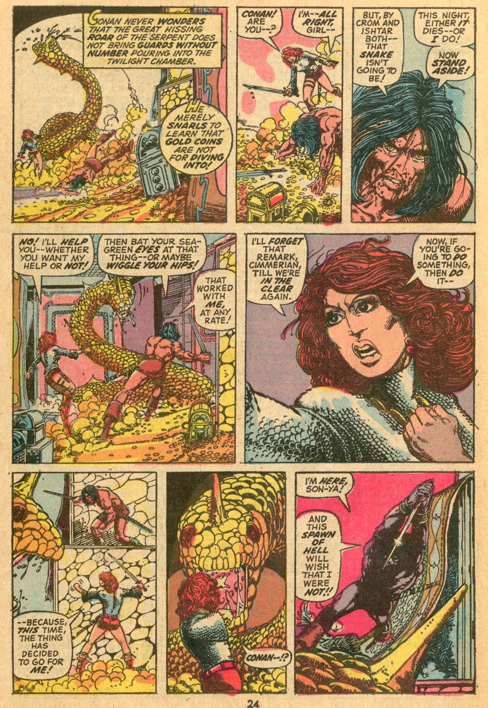 Conan the Barbarian (1970) Issue #24 #36 - English 18