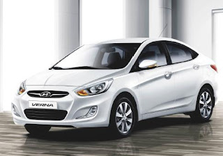 Crazy New Car Prices 2011 New Hyundai Verna Fluidic Hits India