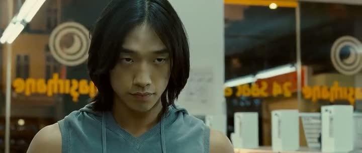 Screen Shot Of Ninja Assassin (2009) Dual Audio Movie 300MB small Size PC Movie