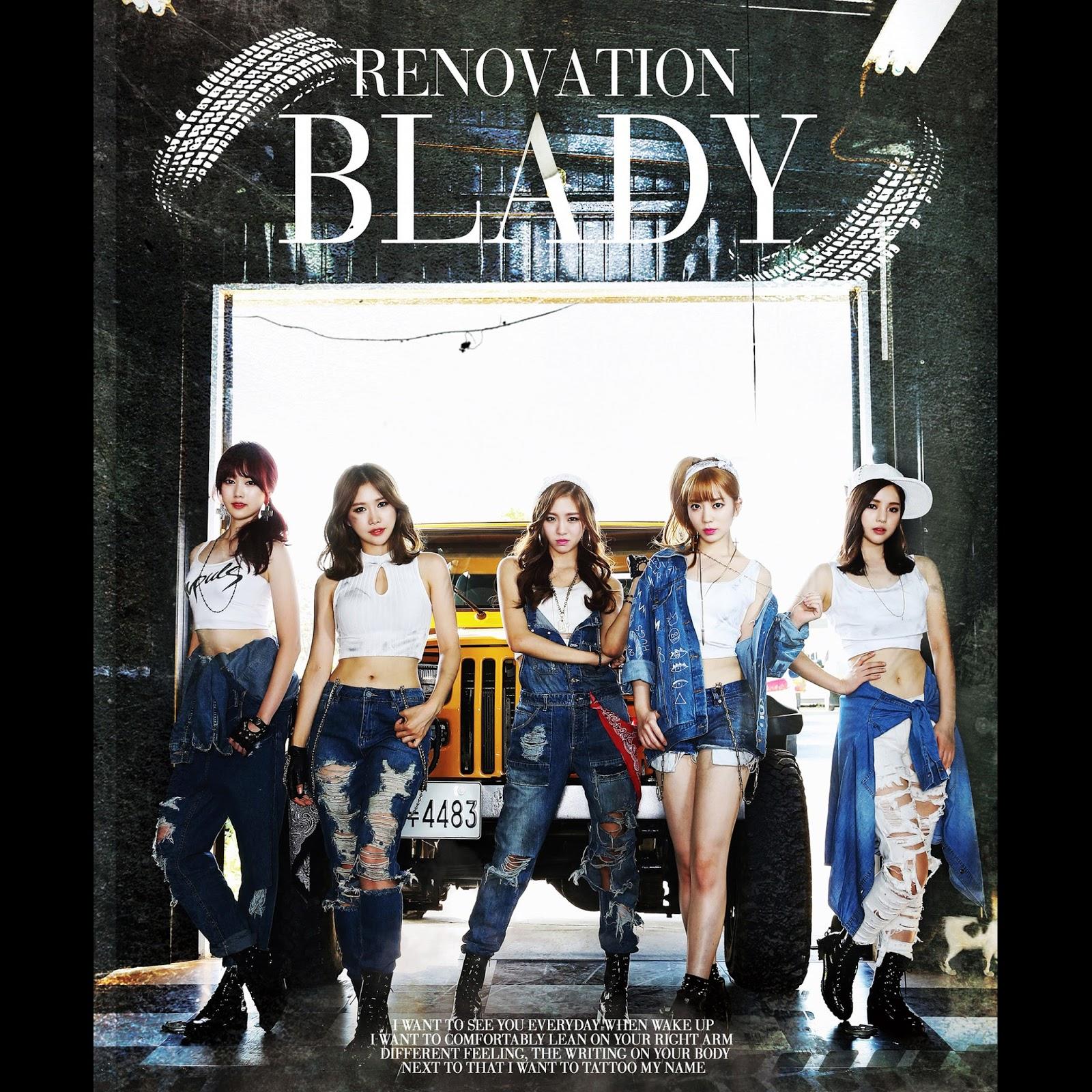 [Mini Album] 리노베이션 - EP - BLADY (블레이디)