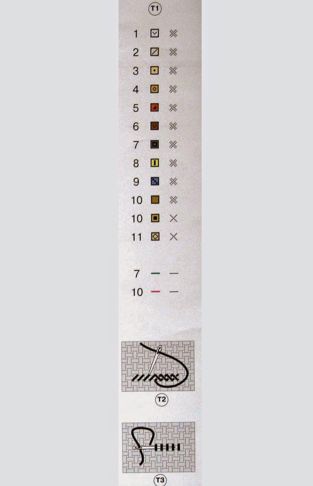 схема вышивки подушки жирафик