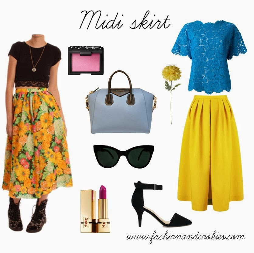 How to style a midi skirt, Fashion and Cookies, fashion blogger