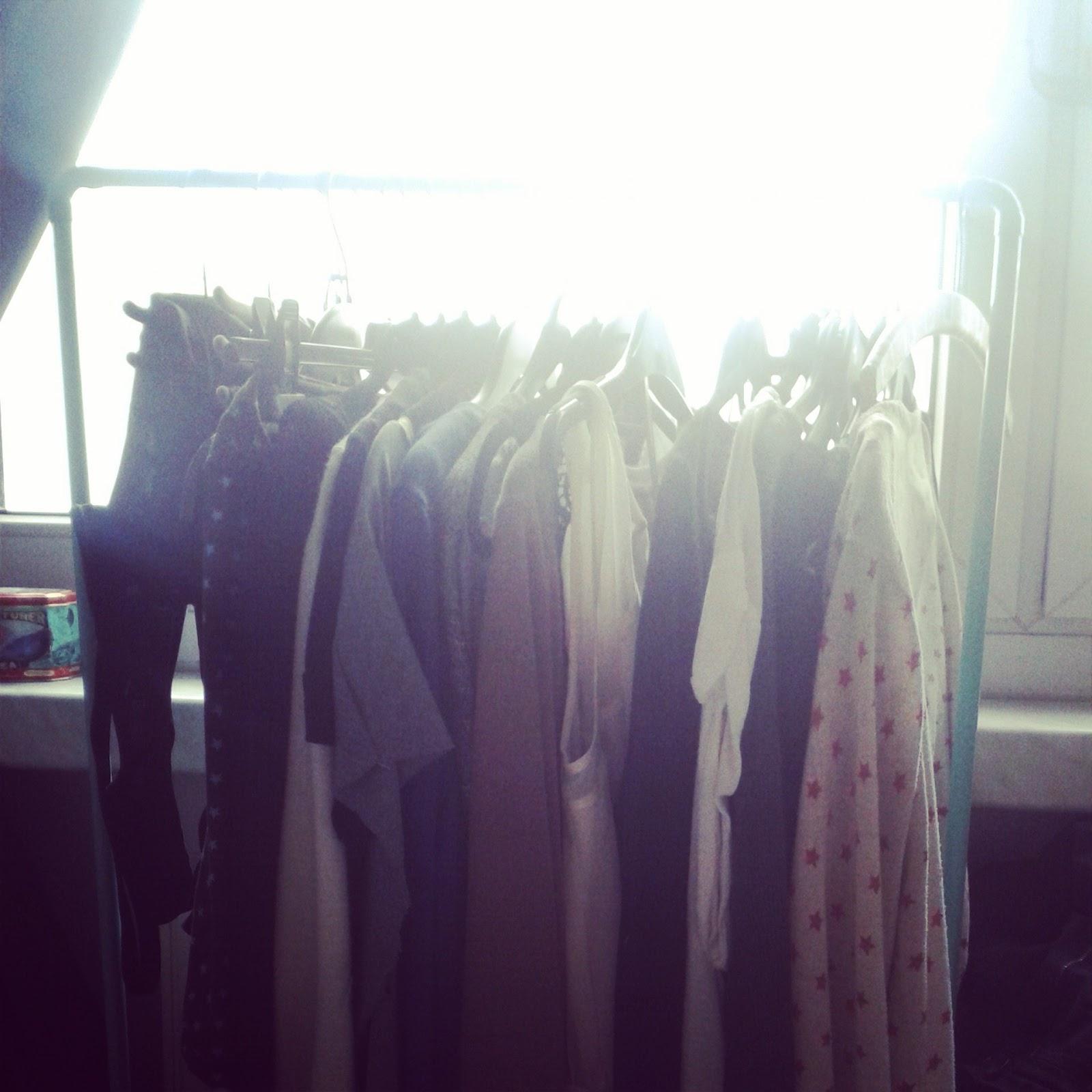 Julies Schöne Neue Welt: Kleiderständer Selbstgemacht