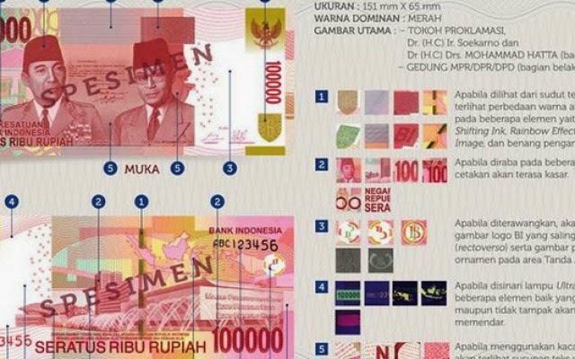 Uang NKRI Terbaru 2014