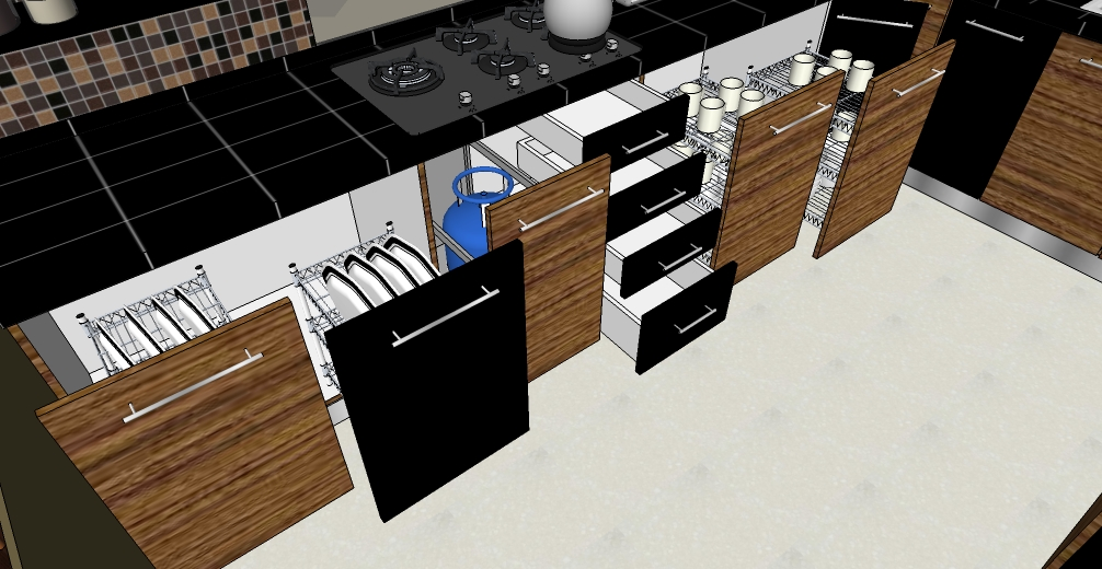 Bagaimana merencanakan kitchen set dapur yang tepat for Laci kitchen set