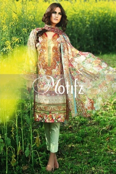 Motifz lawn collection 2015