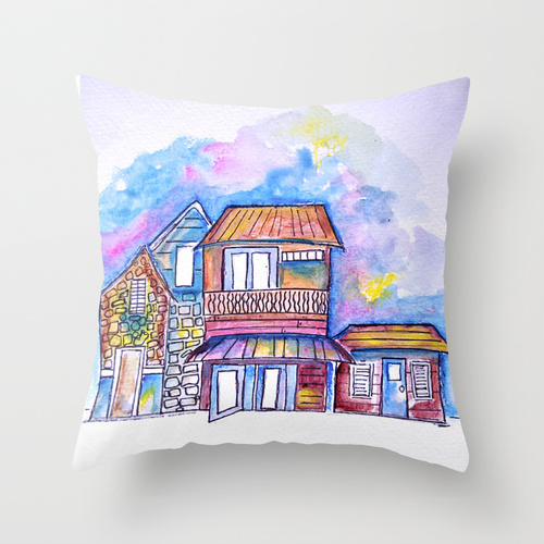 CARIBBEAN INSPIRED PILLOWS
