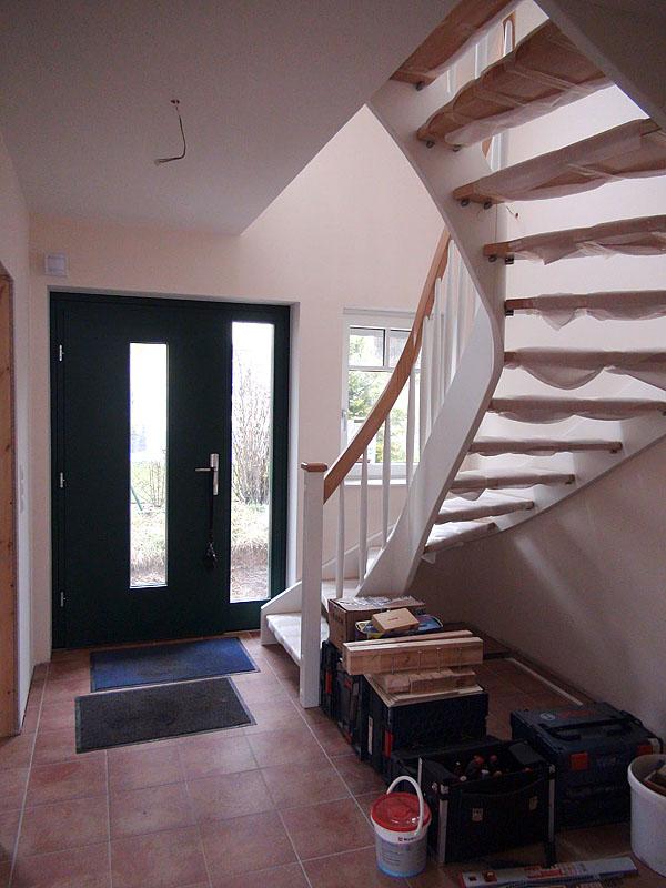 Die meisten experten stimmen aber darin überein, dass der einzige sichere. Bautagebuch Birkenallee Mit Gussek Haus Treppe Turen Und Klinker