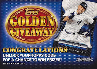 2012 Topps Golden Giveaway