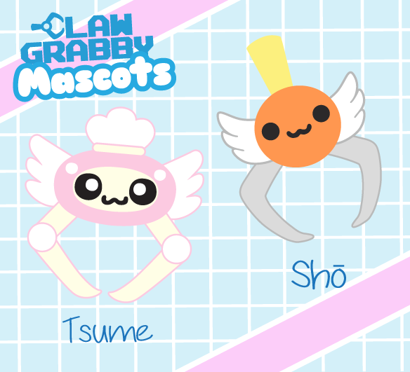 Claw Grabby Store Mascots!