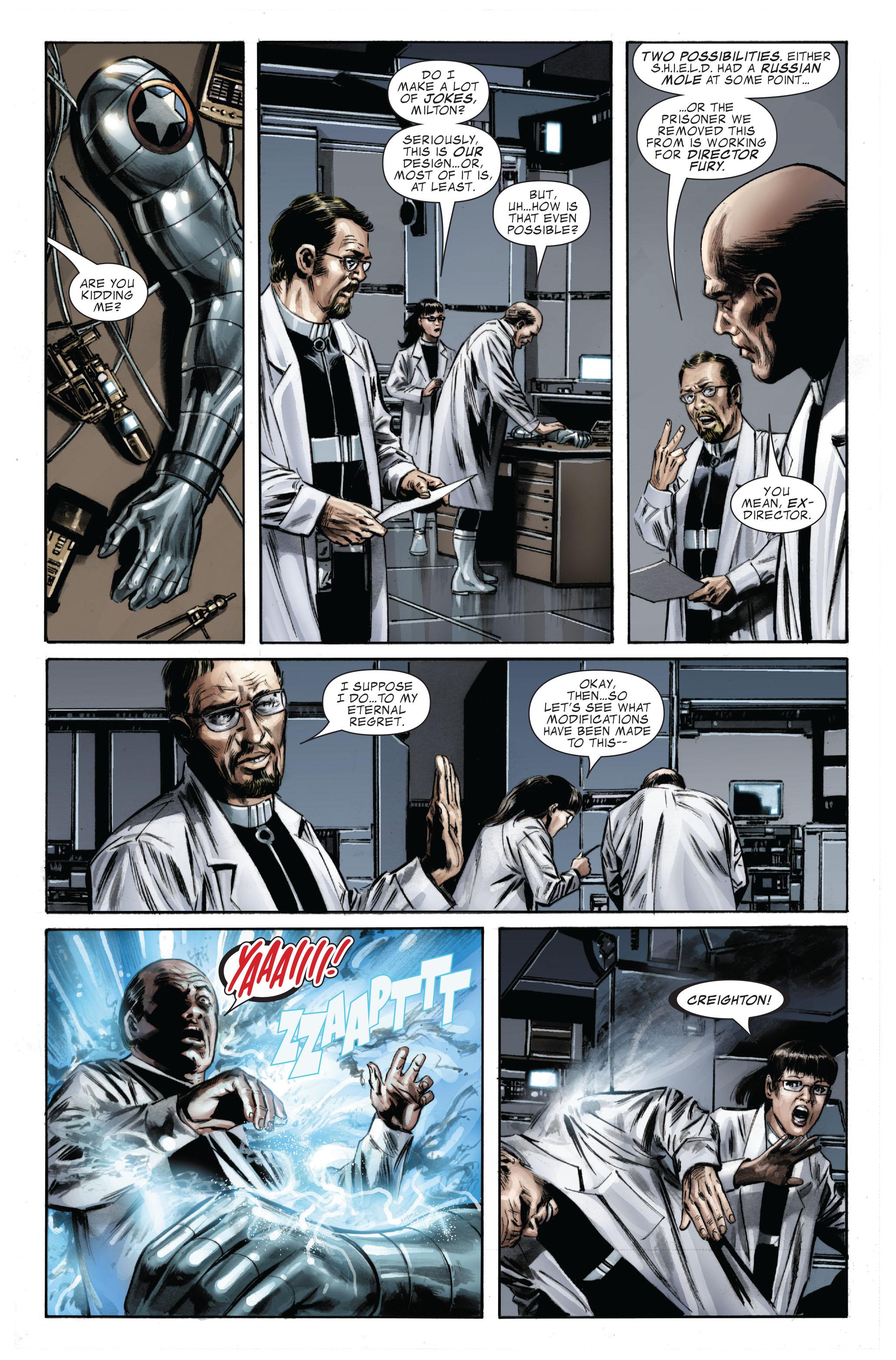 Captain America (2005) Issue #33 #33 - English 5