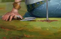 Wind Farm detail by Rob Rey - robreyart.com