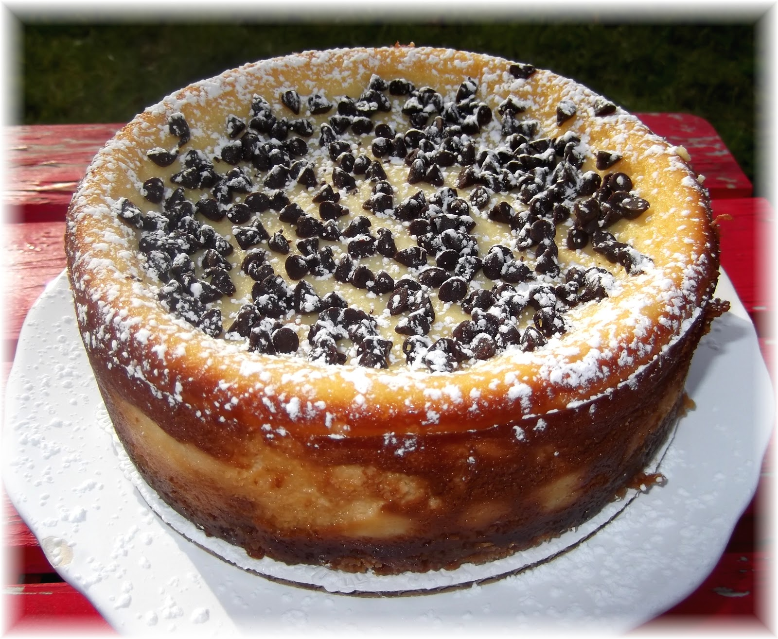 Rosie's Country Baking: Cannoli Cheesecake!
