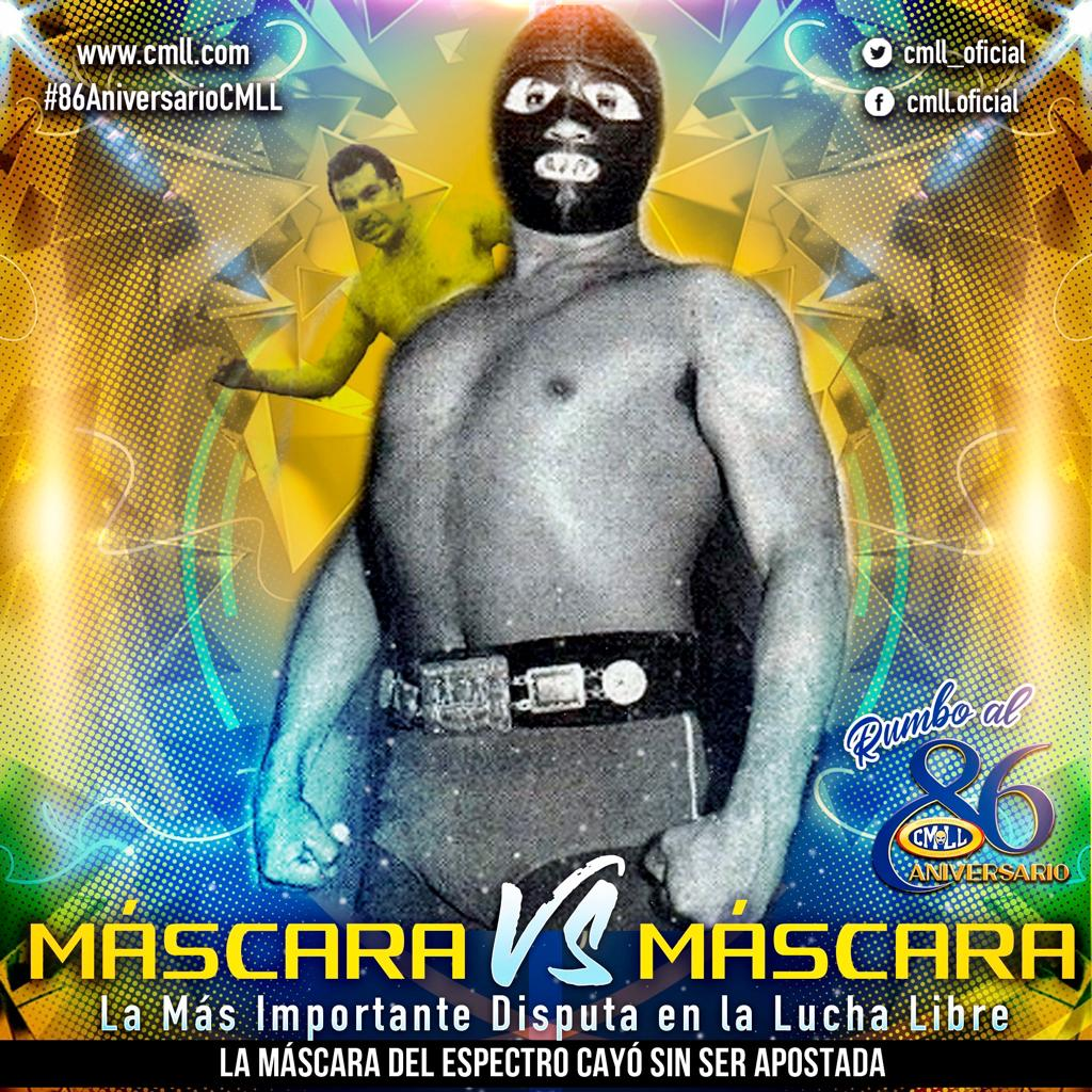 Aniversario CMLL: Espectro