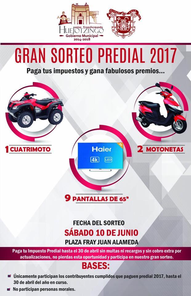Ven y paga tu predial en Hurejotzingo
