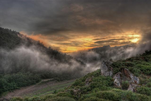 photo lac coucher de soleil, photo hdr paysage, photo hdr fabien monteil