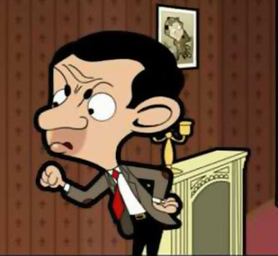 Mr Bean Cartoon Picture