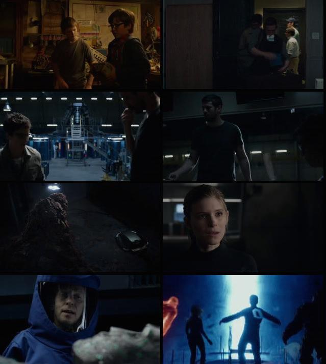 Fantastic Four 2015 Dual Audio Hindi BRRip 480p ESub