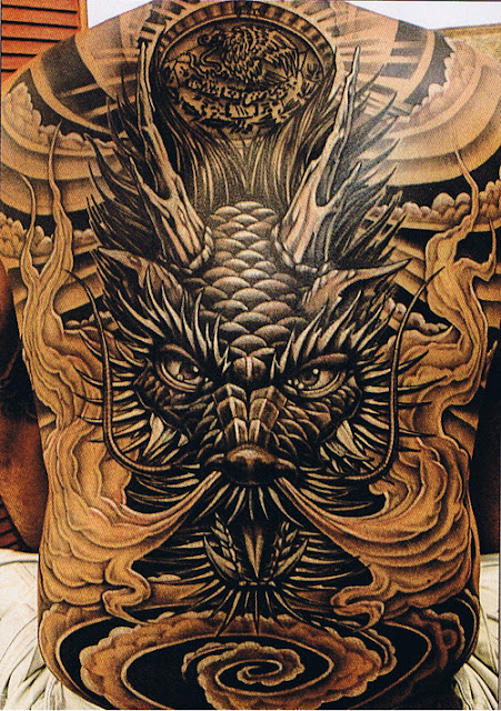 History and Mythology of Dragons Tattoos with china and japan, and why they feel its symbol of power and good will.