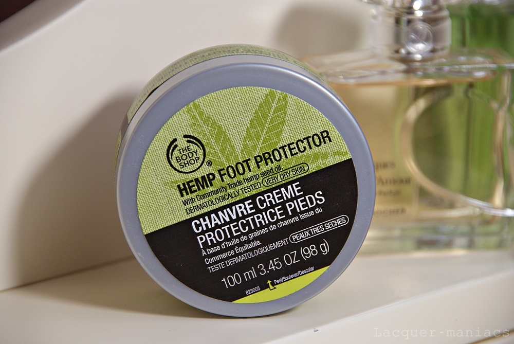 The Body Shop, Hemp Foot Protector - świetny krem do stóp