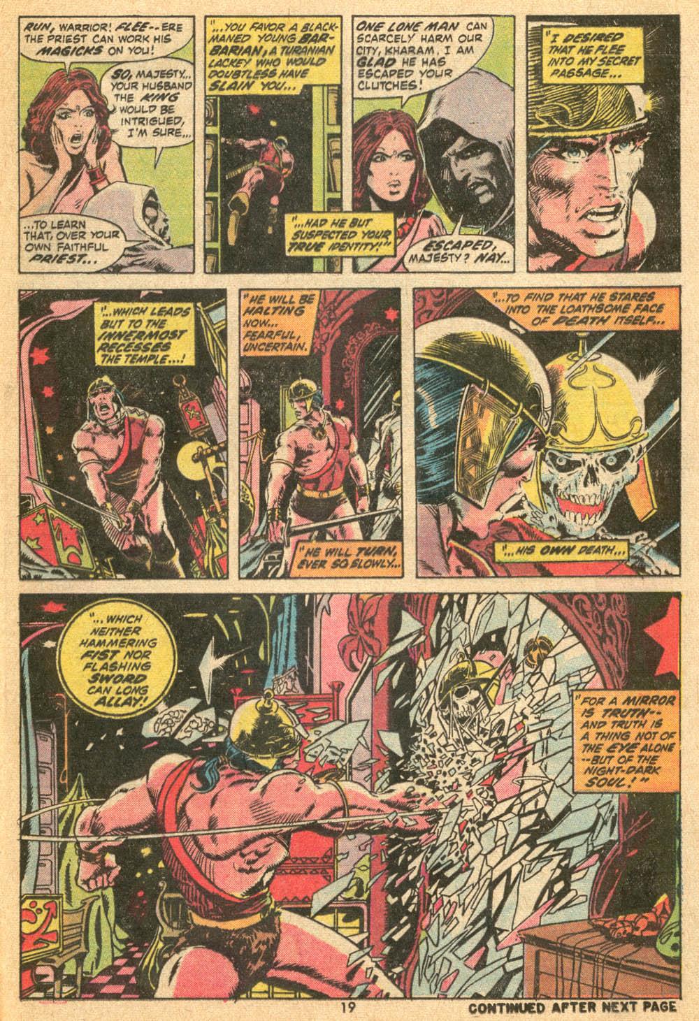 Conan the Barbarian (1970) Issue #20 #32 - English 13