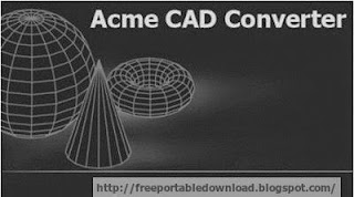 Acme CAD Converter is a power bacth DWG converter