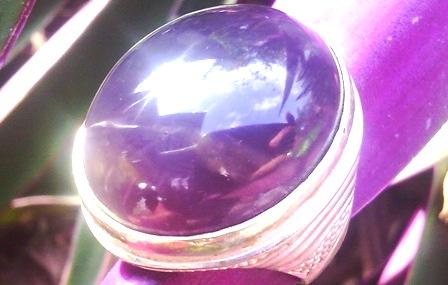 Batu Akik Lavender Asli