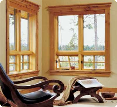 Home wood window replacement repair seattle bellevue for Wood clad windows