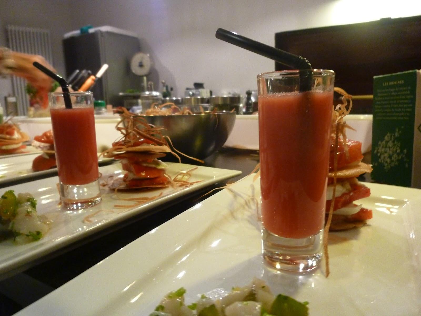 Table d h´tes du 25 ao t et 1er cours de cuisine chez Metafort