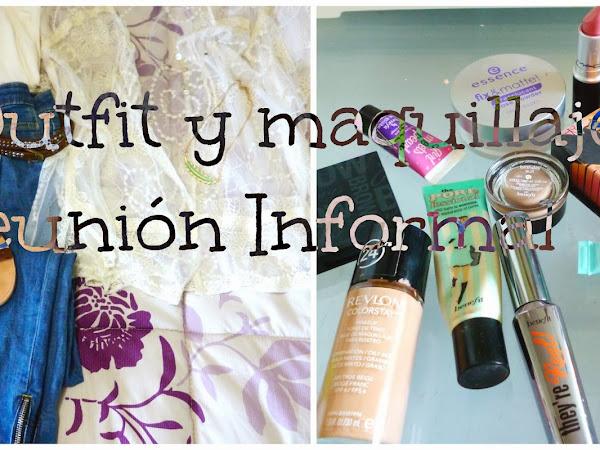 Outfit y productos de maquillaje del día [reunión Informal]