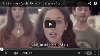 Ara és l'hora - Saule, Perkons, Daugava - Cor Jove de l'Orfeó Català