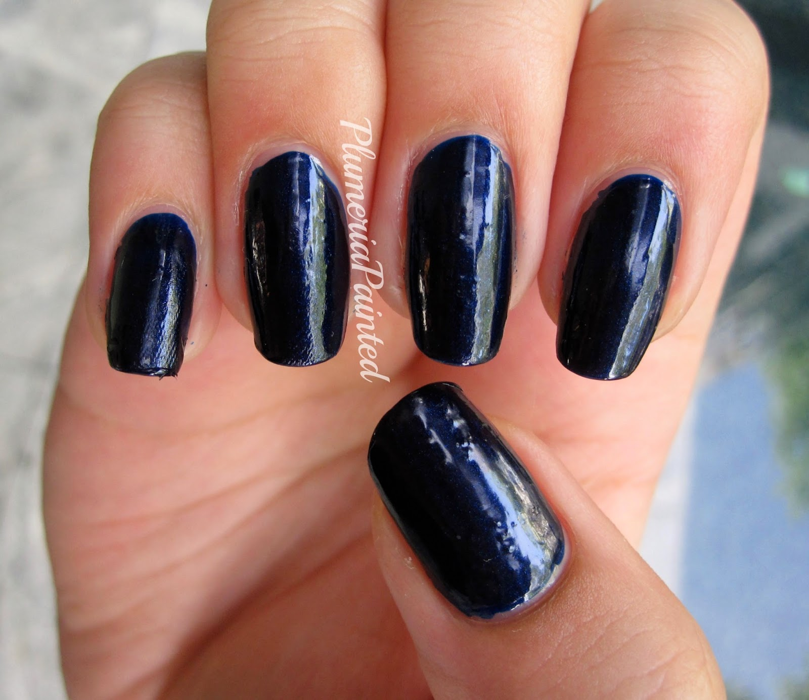 PlumeriaPainted: Blue Nails: Kiko