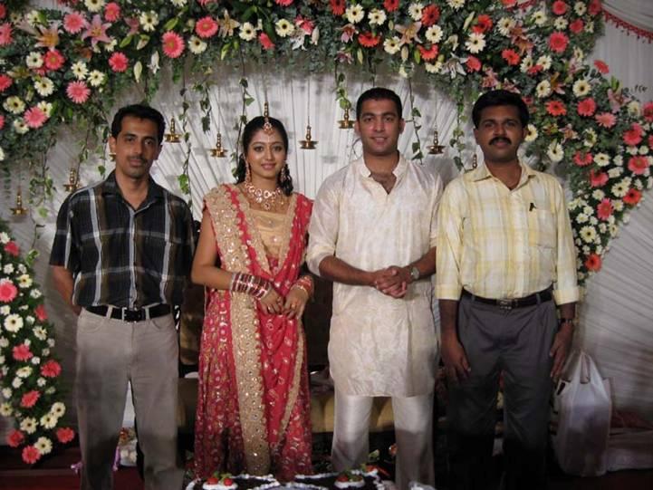 Simran Tamil Actress Wedding Photos