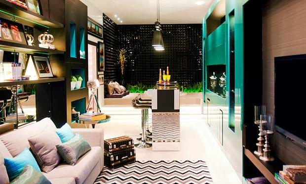 decoracao de sala azul turquesa e amarelo : decoracao de sala azul turquesa e amarelo:Turquesa – by Tiffany! – Decor Salteado – Blog de Decoração e