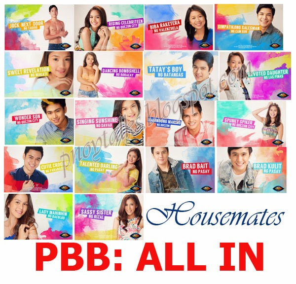 PBB All In Housemates