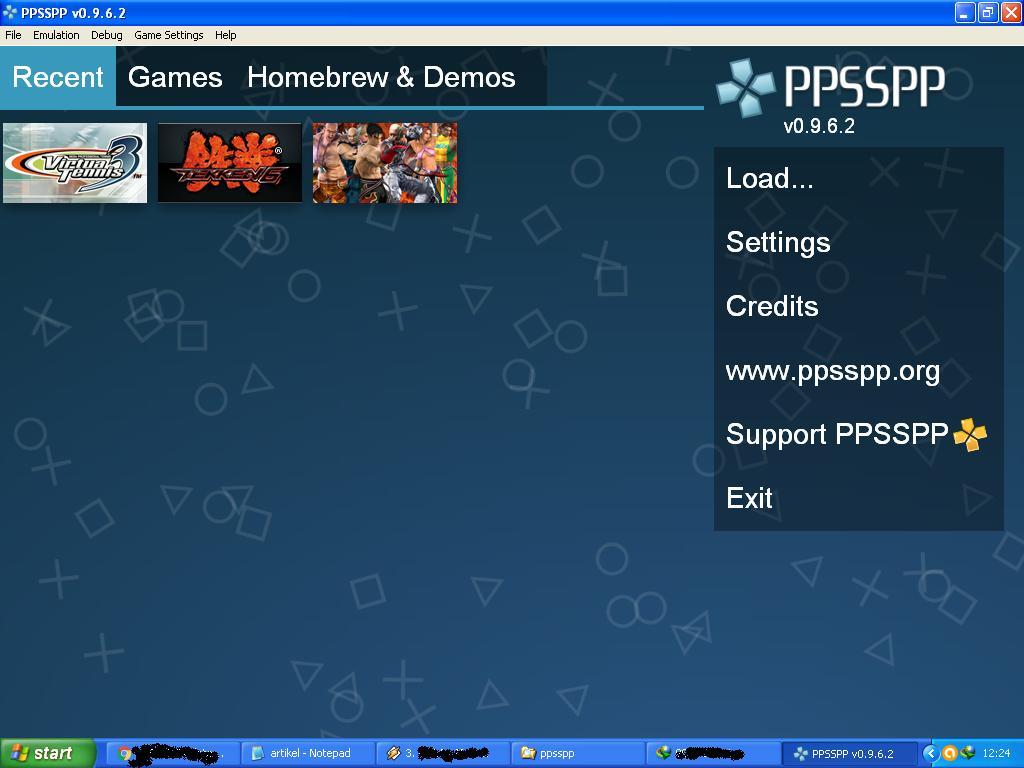how to use psp emulator pc