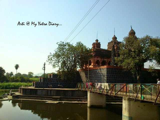 A view of the Sangameshwar Temple, Saswad, Pune