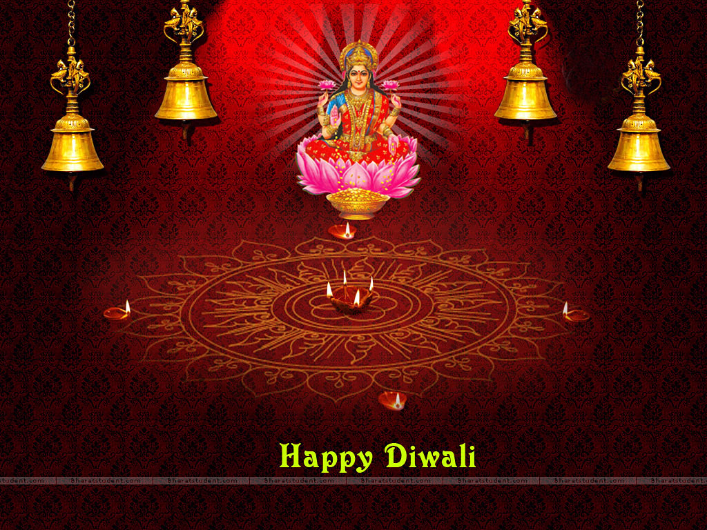 FREE God Wallpaper: Diwali Goddess Lakshmi Wallpapers