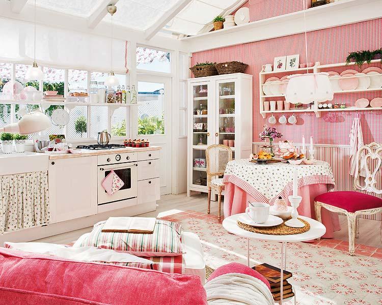 Querido ref gio blog de decora o cozinha rom ntica - Casa shabby chic ikea ...