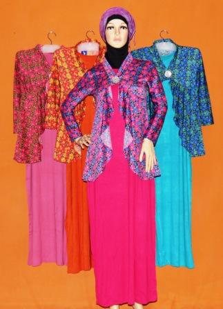 Gamis Fashion Terbaru Gkm4536 Grosir Baju Muslim Murah