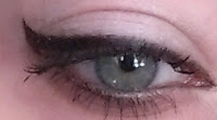 Cover Girl Intensify me liquid eyeliner Super Sizer mascara blackest black
