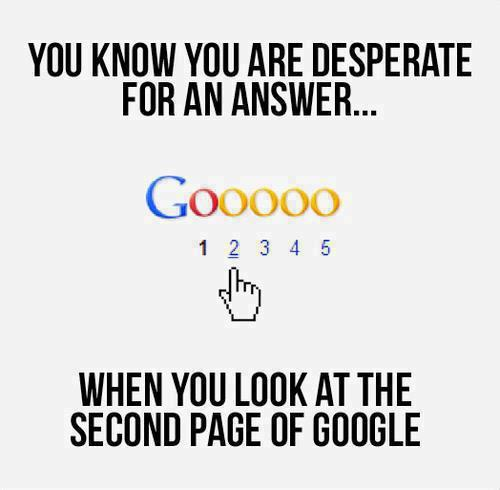 For An Answer Google