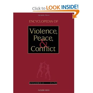 Encyclopedia of Violence, Peace, and Conflict, Three-Volume Set (v. 1-3)
