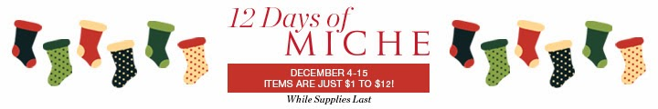 Shop 12 Days of Miche Sale - Items as low as $1.00