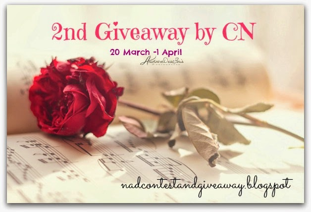 2nd Giveaway by CN