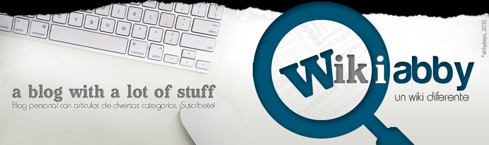 WikiAbby... un wiki diferente