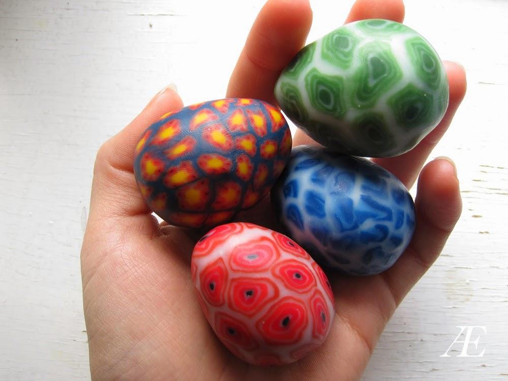 DIY cernit, Fimoler, påske æg