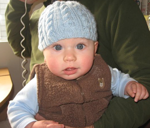 The Yarn Garden Blog Upcoming Class Easy Baby Cable Knit Hat