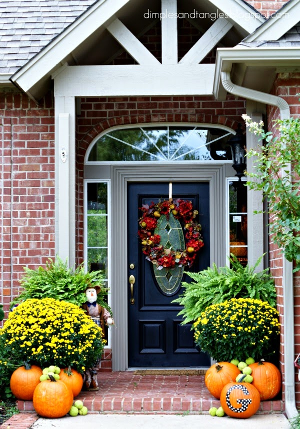 Outdoor entryway decorating ideas instant knowledge for Decorating outdoor entryways
